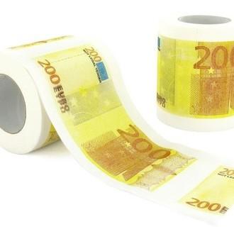Toilet Roll Euro