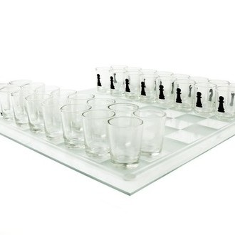Shot Glass Drinking Chess Game