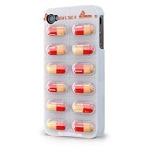 iPhone 4 Pill Case Cover