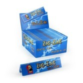 Blättchen ZigZag Blue King Size