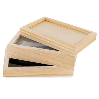Wooden Sifter Box