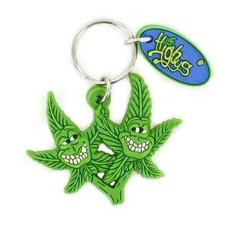 Keychain Cannabuds Twins