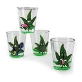 Cannabuds Shot Glasses (4 pcs)