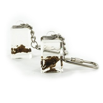 Acryl Schlüsselanhänger mit Hasch