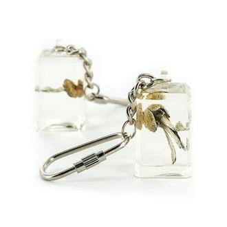 Acryl Schlüsselanhänger mit Zauberpilz