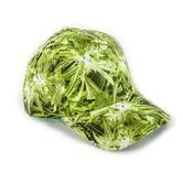 Baseball Kappe Cannabis Aufdruck