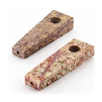 Soapstone Pipe Rectangle