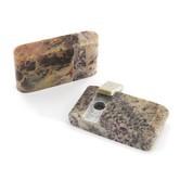 Pipa con coperchio in pietra ollare