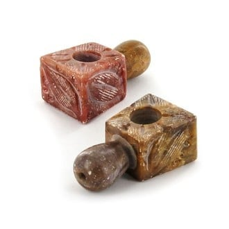 Carved Soapstone Pipe Mini