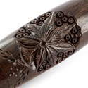 Rosewood Pipe Carved Elipse