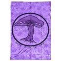 Batik Throw-over Mushroom