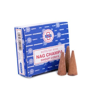 Incense Sai Baba Nag Champa Dhoop Cones