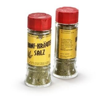 Biologisches Hanf und Kräuter Salz