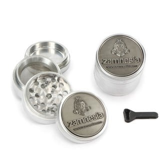 Metal Grinder Zamnesia Pollinator 3D LIMITED EDITION