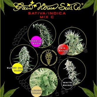 Sativa/Indica Mix C (Greenhouse Seeds) femminizzata