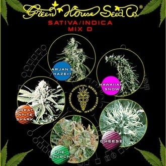 Sativa/Indica Mix D (Greenhouse Seeds) feminized