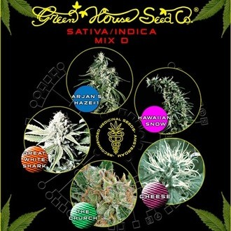 Sativa/Indica Mix D (Greenhouse Seeds) femminizzata