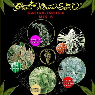 Sativa/Indica Mix A (Greenhouse Seeds) feminisiert