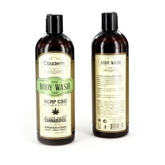 Hemp Fresh Body Wash (Cibaderm)