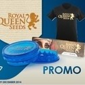 Shirt, Grinder, Rolling Papers Royal Queen Seeds