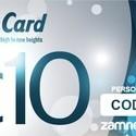 Carta Regalo Zamnesia - 10 euro