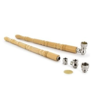 Metal Wooden Pipe Refined