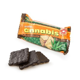 Cannabis Choco Biscuits