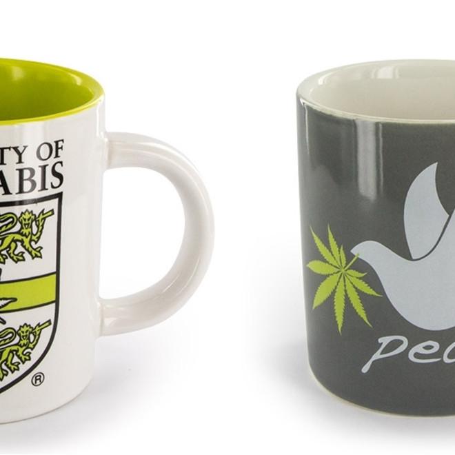 5e5f1020457 Cannabis Themed Coffee Mug
