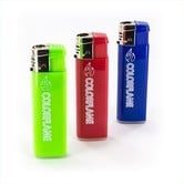 Windproof Lighter Color Flame