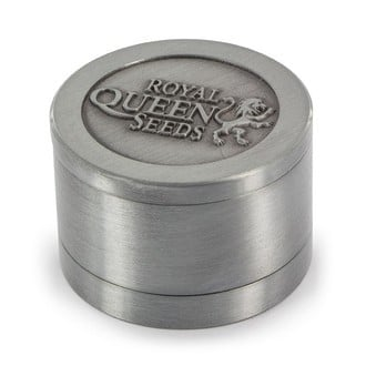 Grinder in metallo Royal Queen Seeds EDIZIONE LIMITATA (3 parti)