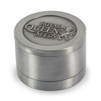 Grinder in metallo Royal Queen Seeds EDIZIONE LIMITATA