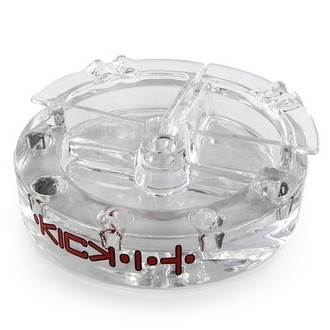 Glass Ashtray XL Kick-It