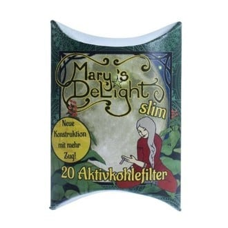 Mary's Delight Activated Carbon Slim Filters