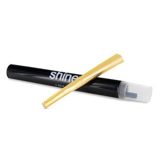 SHINE 24K Gold Rolling Paper Cone