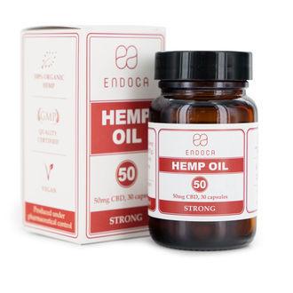Endoca Hemp Oil Capsules (15% CBD)