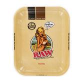 RAW Rolling Tray Girl