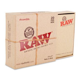 RAW Silikonbeschichtete Pergamentbeutel (20 Stück)