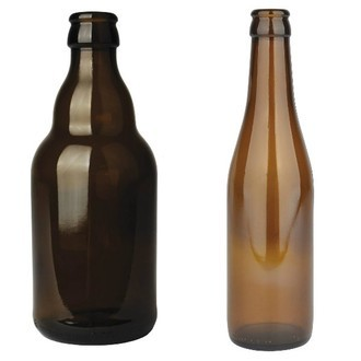 Glass Beer Bottles (24)