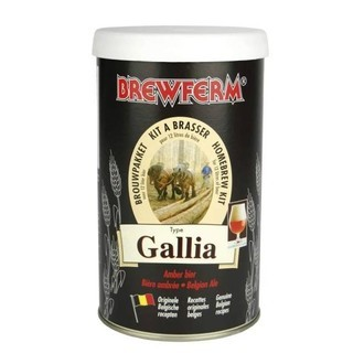 Kit Birra Brewferm GALLIA Belgian Ale (12l)