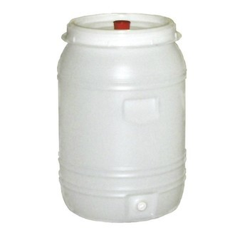 Barile per Fermentazione in Plastica da 60L (incl. camera di equilibrio e rubinetto)