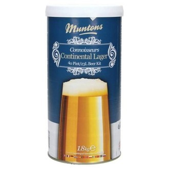 Beer Kit Muntons Continental Lager (1.8kg)