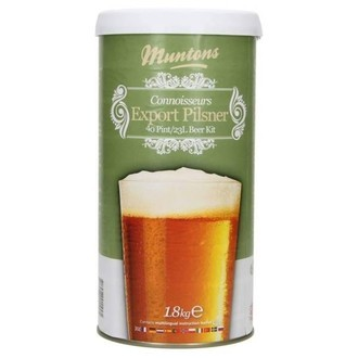 Beer Kit Muntons Export Pilsner (1.8kg)