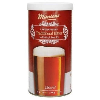 Kit Birra Muntons Traditional Bitter (1,8kg)