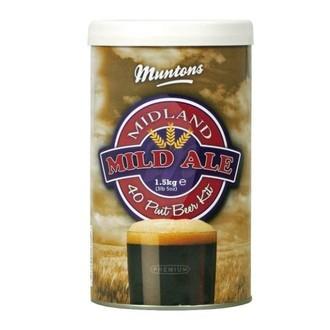Beer Kit Muntons Midland Mild (1.5kg)