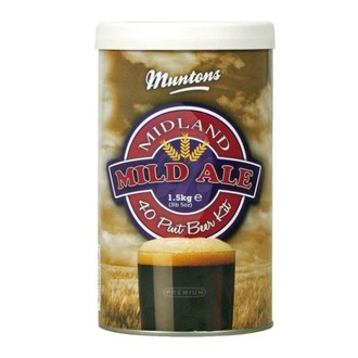 Kit Birra Muntons Midland Mild (1,5kg)