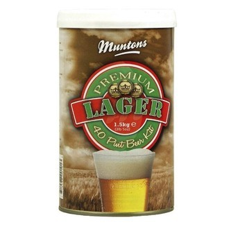 Kit Birra Muntons Premium Lager (1,5kg)