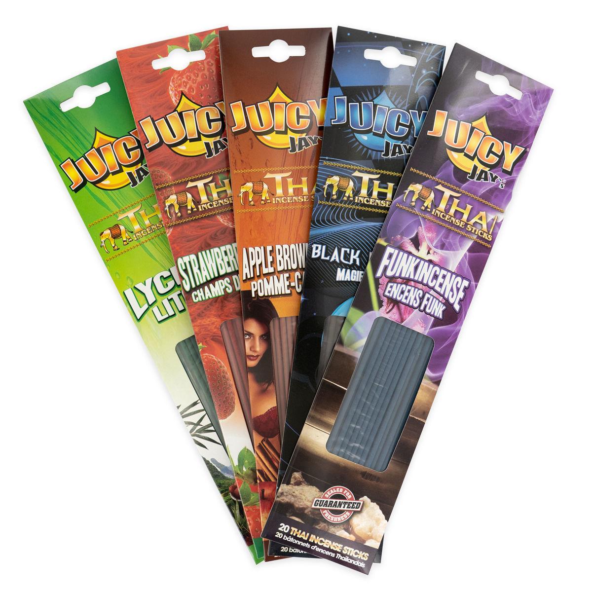 Juicy Jay S Incense Sticks Zamnesia