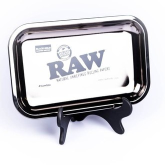 RAW Black Gold Rolling Tray LIMITED EDITION
