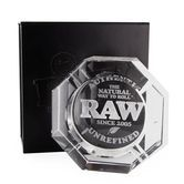 RAW Crystal Glass Ashtray