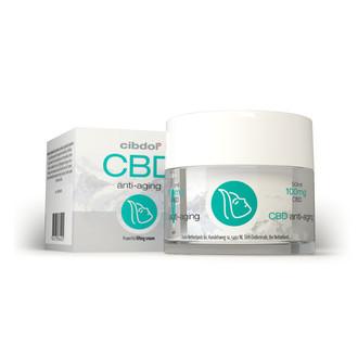Anti-Aging-Creme mit CBD (Cibdol)